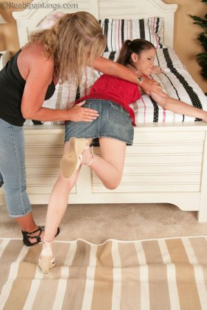 Real Spankings - Erin Punished With The Belt - image 7