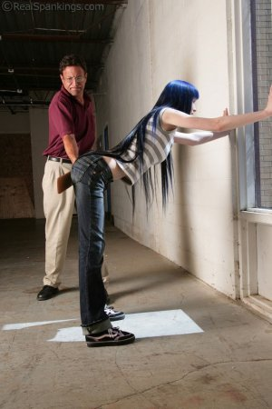 Real Spankings - Lila Paddled For Distrupting Class - image 14