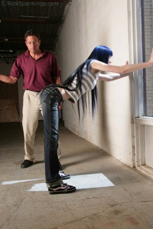 Real Spankings - Lila Paddled For Distrupting Class - image 18