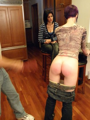 Real Spankings - Lila Confronted About Report Card - image 15