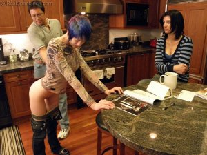 Real Spankings - Lila Confronted About Report Card - image 11