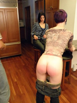 Real Spankings - Lila Confronted About Report Card - image 6