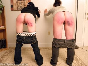 Real Spankings - Lila And Frankie Paddled In Front Of Miss Kay (part 2) - image 4