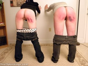 Real Spankings - Lila And Frankie Paddled In Front Of Miss Kay (part 2) - image 10