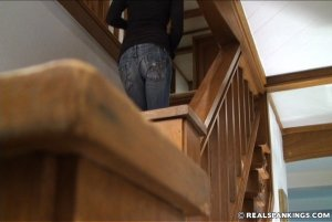 Real Spankings - Monica Caught Sneaking Out - image 5
