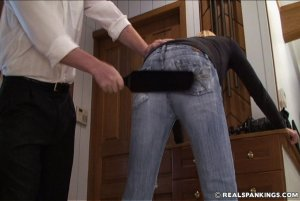 Real Spankings - Monica Caught Sneaking Out - image 9