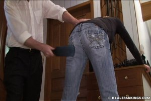 Real Spankings - Monica Caught Sneaking Out - image 11