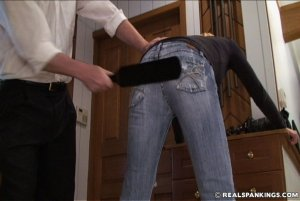 Real Spankings - Monica Caught Sneaking Out - image 7