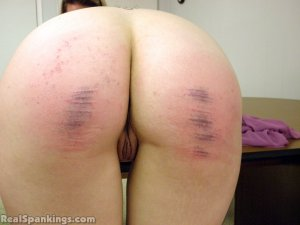 Real Spankings - Monica And Jade Naked Caning (part 1 Of 2) - image 10
