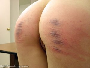 Real Spankings - Monica And Jade Naked Caning (part 1 Of 2) - image 8