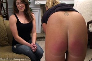 Real Spankings - Betty And Brooke School Strokes (part 2 Of 2) - image 16