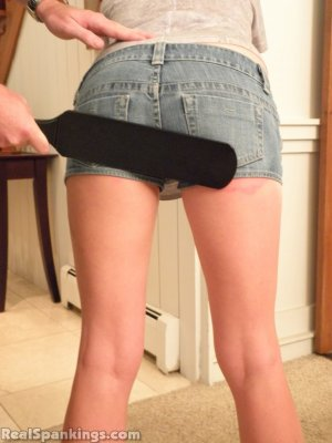 Real Spankings - Riley Spanked For Being Late - image 16