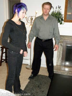 Real Spankings - Lila Spanked For Ignoring Orders - image 6