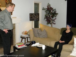 Real Spankings - Lila Spanked For Ignoring Orders - image 17