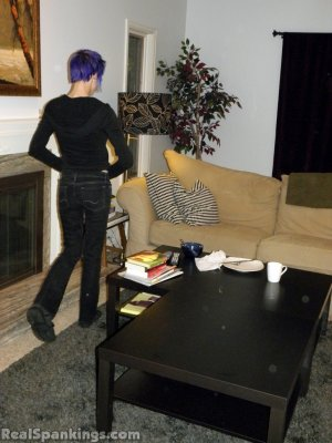 Real Spankings - Lila Spanked For Ignoring Orders - image 4