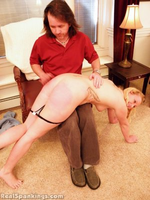 Real Spankings - Summer And Brooke Hand Spanked For Coming Home Late (part 2 Of 2) - image 8