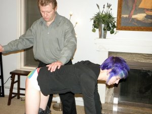 Real Spankings - Lila Spanked For Ignoring Orders - image 14