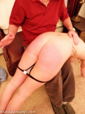 Real Spankings - Summer And Brooke Hand Spanked For Coming Home Late (part 2 Of 2) - image 14