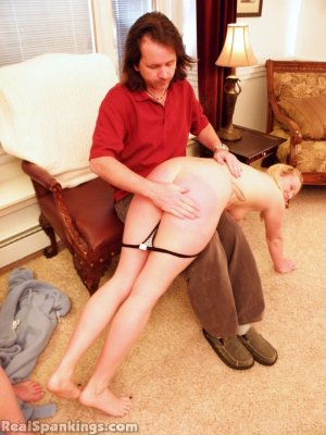 Real Spankings - Summer And Brooke Hand Spanked For Coming Home Late (part 2 Of 2) - image 10