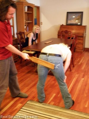 Real Spankings - Summer And Brooke Paddled (part 2 Of 2) - image 4