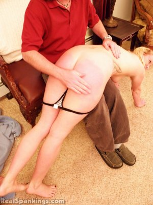 Real Spankings - Summer And Brooke Hand Spanked For Coming Home Late (part 2 Of 2) - image 6