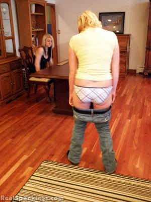 Real Spankings - Summer And Brooke Paddled (part 2 Of 2) - image 16