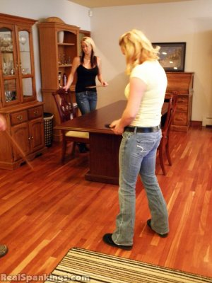Real Spankings - Summer And Brooke Paddled (part 2 Of 2) - image 11