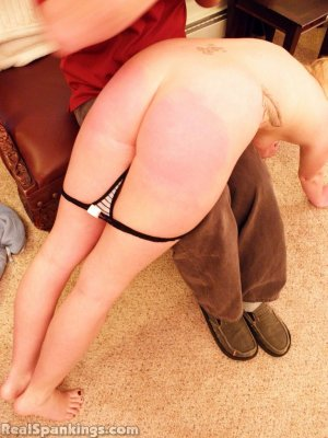 Real Spankings - Summer And Brooke Hand Spanked For Coming Home Late (part 2 Of 2) - image 12