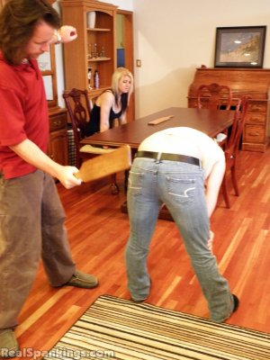 Real Spankings - Summer And Brooke Paddled (part 2 Of 2) - image 1