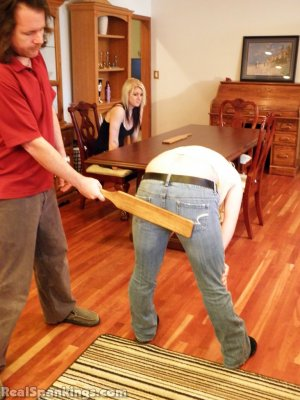 Real Spankings - Summer And Brooke Paddled (part 2 Of 2) - image 15