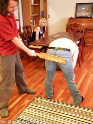 Real Spankings - Summer And Brooke Paddled (part 2 Of 2) - image 10