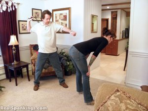 Real Spankings - Jade Spanked By Mr. M (part 1 Of 2) - image 6