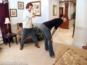 Real Spankings - Jade Spanked By Mr. M (part 1 Of 2) - image 3