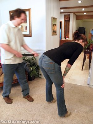 Real Spankings - Jade Spanked By Mr. M (part 1 Of 2) - image 5
