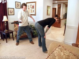 Real Spankings - Jade Spanked By Mr. M (part 1 Of 2) - image 9