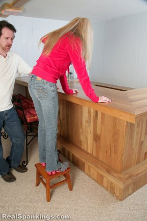 Real Spankings - Chloe Caught Sneaking Alcohol - image 10