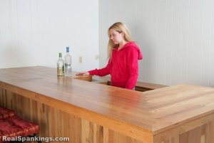 Real Spankings - Chloe Caught Sneaking Alcohol - image 6