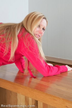 Real Spankings - Chloe Caught Sneaking Alcohol - image 5