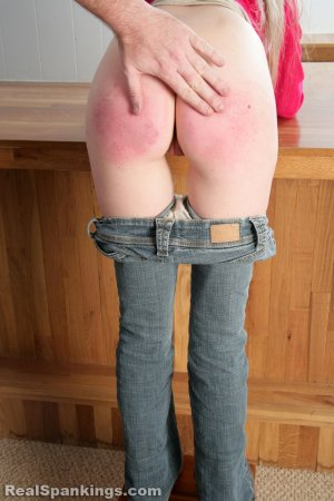 Real Spankings - Chloe Caught Sneaking Alcohol - image 3
