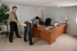 Real Spankings - Jade Is Paddled For Excessive Tardies - image 9