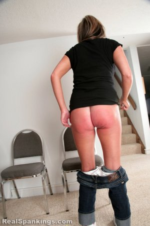 Real Spankings - Riley Paddled - image 14