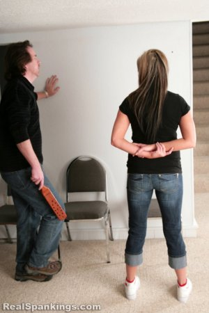 Real Spankings - Riley Paddled - image 10