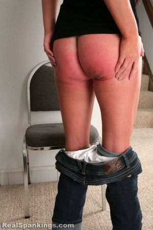 Real Spankings - Riley Paddled - image 13
