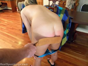 Real Spankings - Riley Spanked For Not Completing Her Chores (part 1 Of 2) - image 3