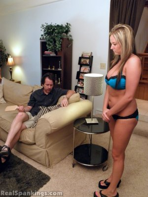 Real Spankings - Riley Spanked For Not Completing Her Chores (part 2 Of 2) - image 9