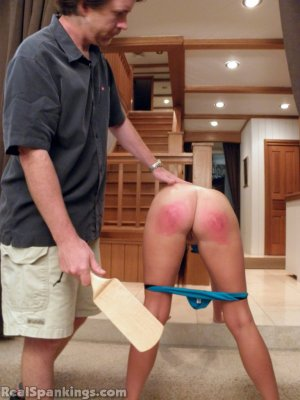 Real Spankings - Riley Spanked For Not Completing Her Chores (part 2 Of 2) - image 17