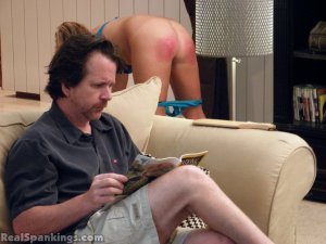Real Spankings - Riley Spanked For Not Completing Her Chores (part 2 Of 2) - image 11