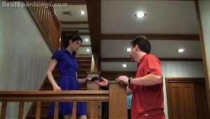Real Spankings - Severe Hairbrush Spanking From Dad - image 9