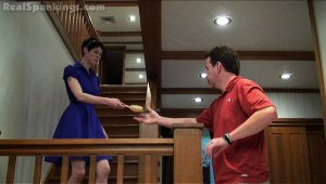 Real Spankings - Severe Hairbrush Spanking From Dad - image 4