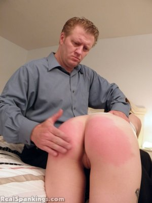 Real Spankings - Allison: Long Hard Spanking (part 1) - image 1